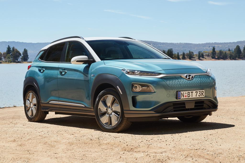 Hyundai Kona Electric Suv Arrives In Australia