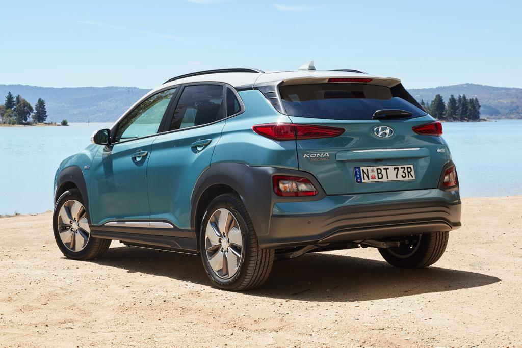 Hyundai Kona Electric Suv Arrives In Australia