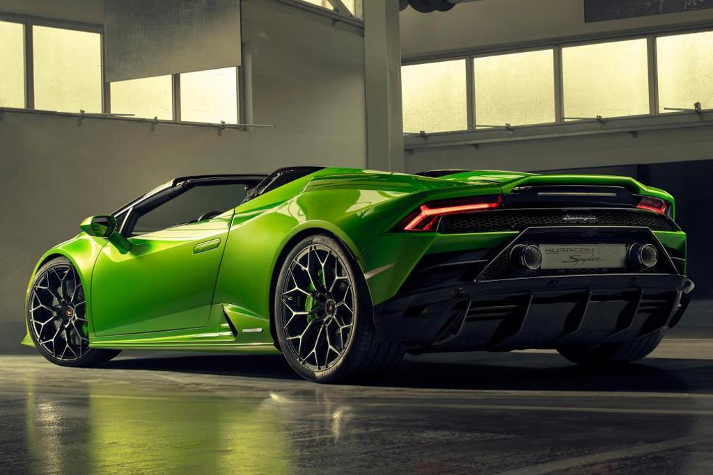 Geneva Motor Show Lamborghini Huracan Evo Spyder Unleashed Www