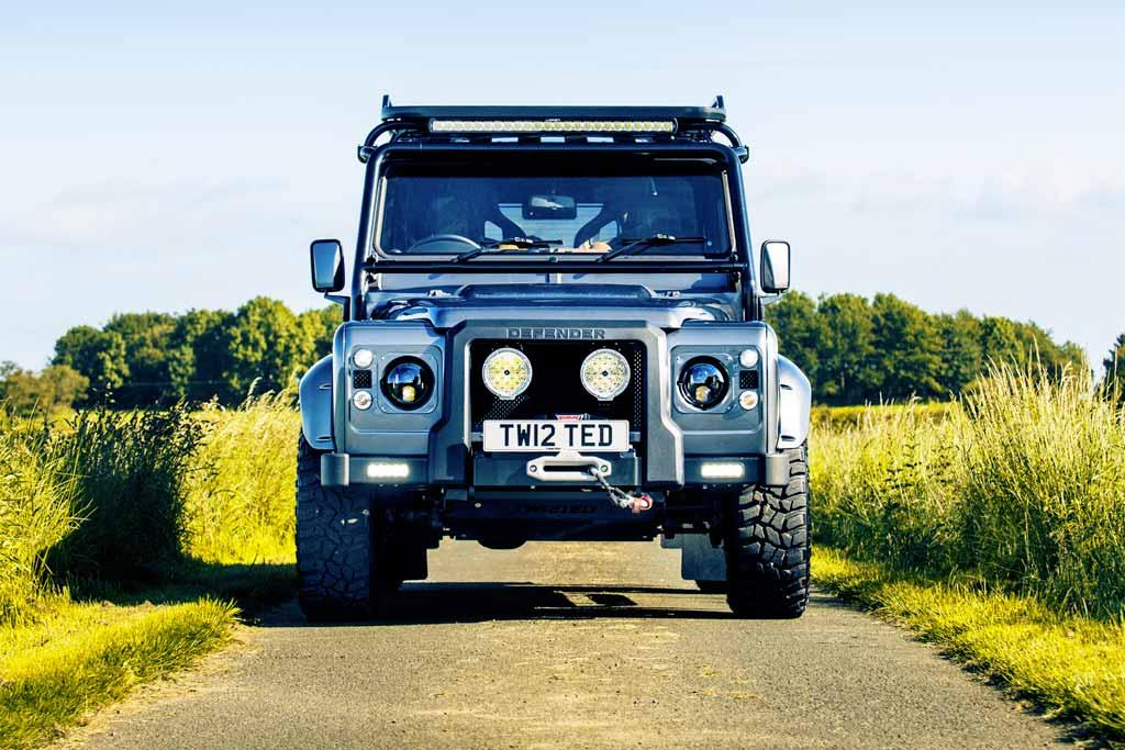 A new twist on the old Defender - www carsales com au