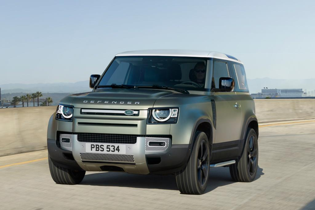 FRANKFURT MOTOR SHOW: New Land Rover Defender finally