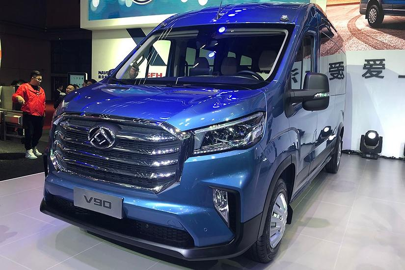 New LDV V90 van gunning for Mercedes Sprinter - www carsales com au