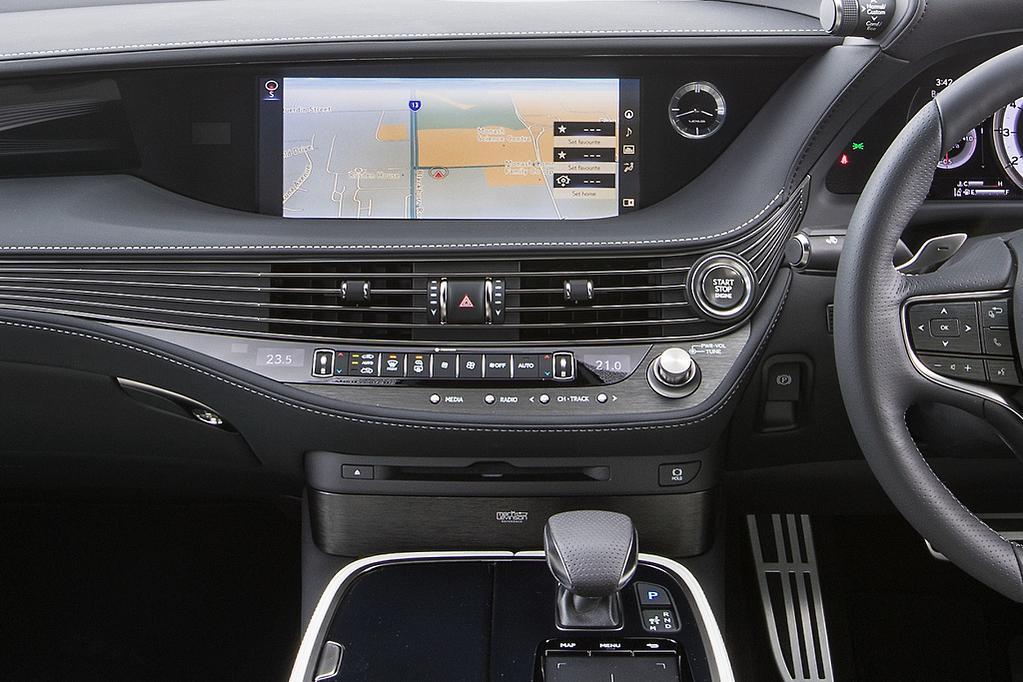 Lexus LS 500 2019 Review - www carsales com au