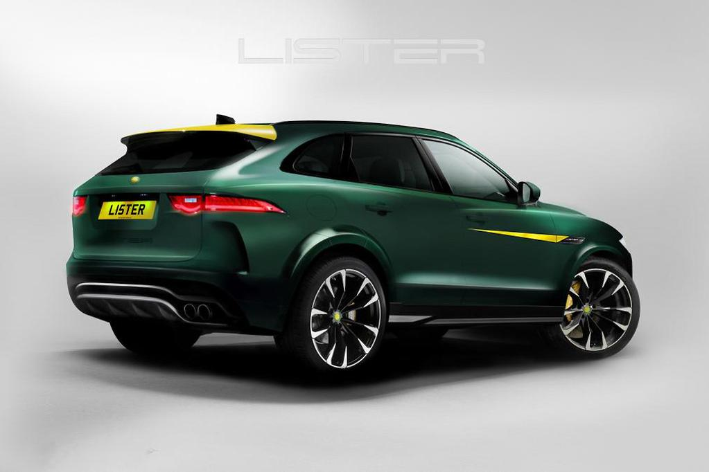 Lister Jaguar LFP claimed to be the world's fastest SUV
