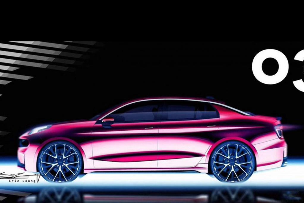 Sporty Lynk & Co 03 sedan teased - www carsales com au