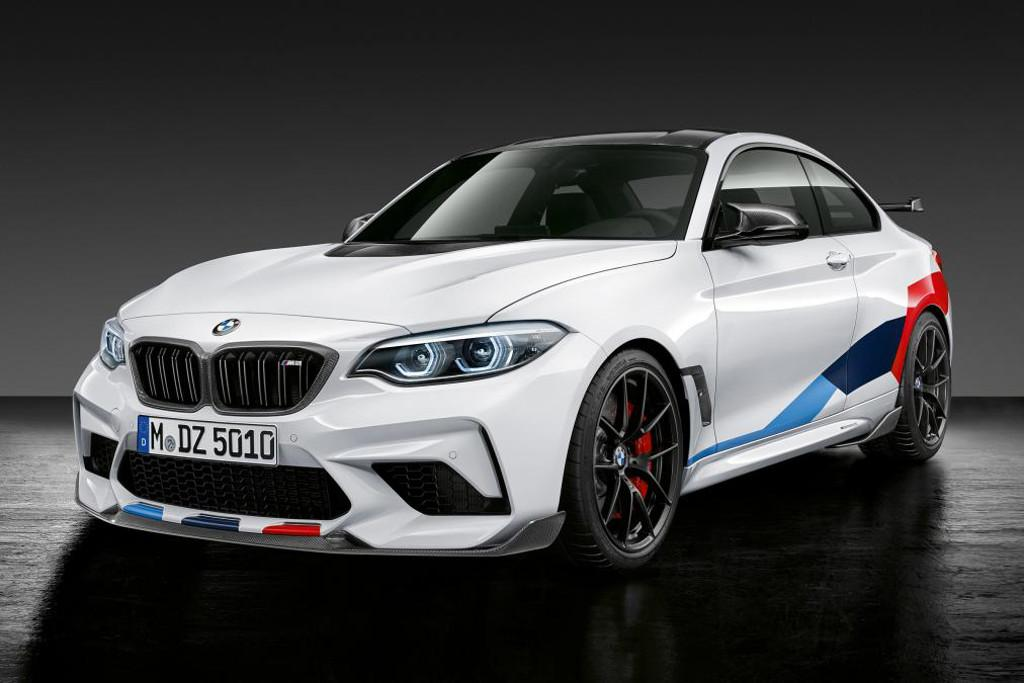 BMW offers M2 Competition performance upgrades - www