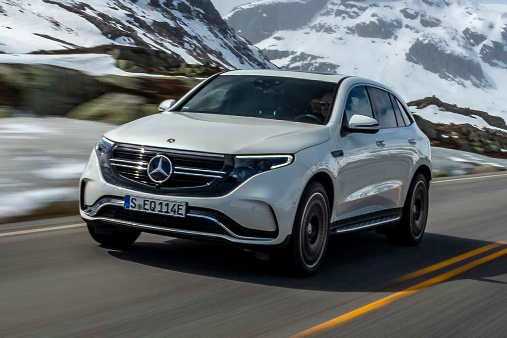 2019 Mercedes EQC: Design, Specs, Release >> Mercedes Benz Eqc 400 2019 Review International Www Carsales Com Au