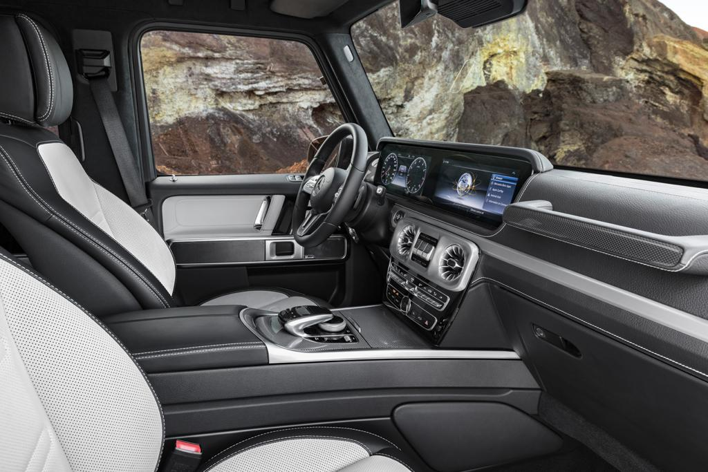Detroit Motor Show Inside The New Mercedes G Class Www Carsales