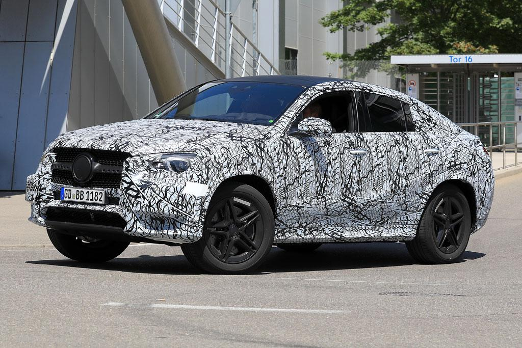 Spy Pics 2019 Mercedes Benz Gle Coupe Snapped Www Carsales Com Au