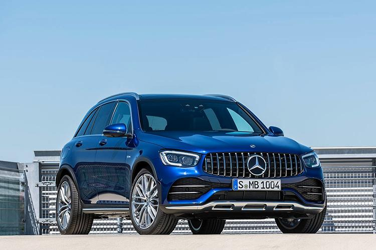 2020 Mercedes-AMG GLC 43 and GLC 43 Coupe revealed - www