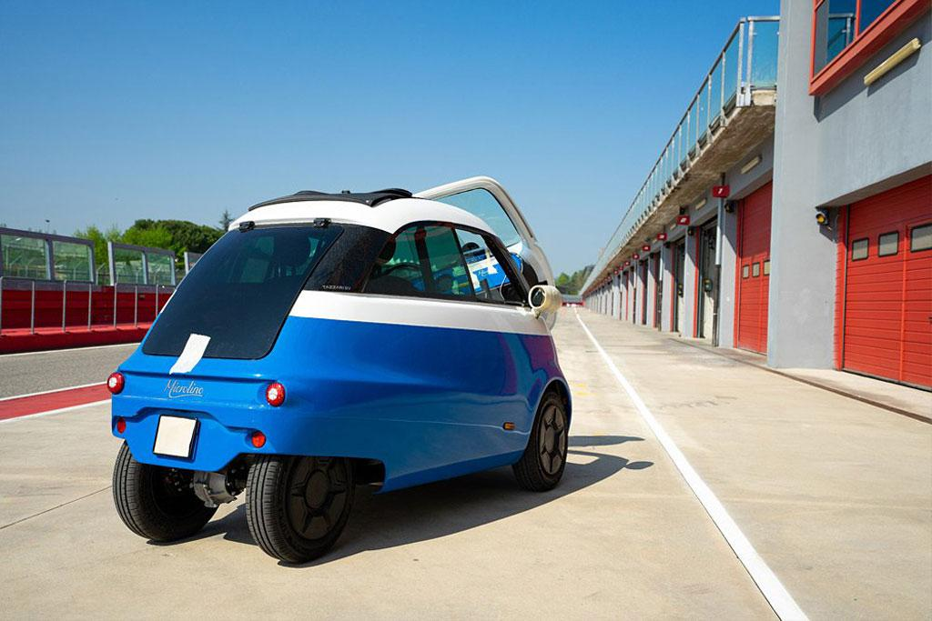 Bubble car returns as EV - www carsales com au