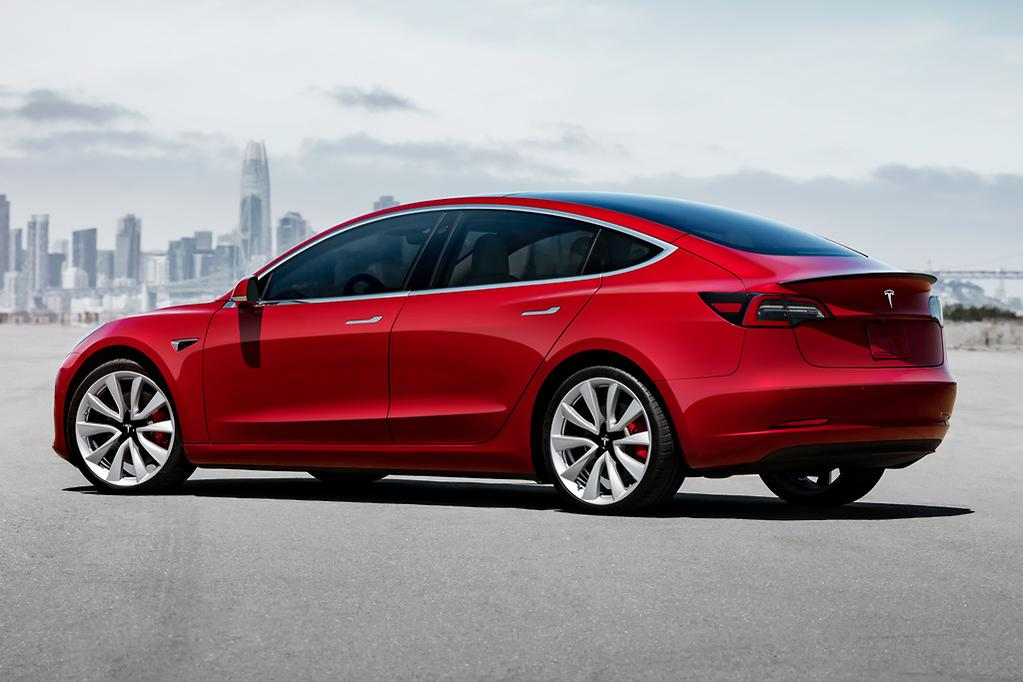 Battery Pack Instead Of Petrol Or Sel Fuel Is Akin To A High Performance Sports Sedan Such As Previous Generation V8 Holden Commodore The Model 3