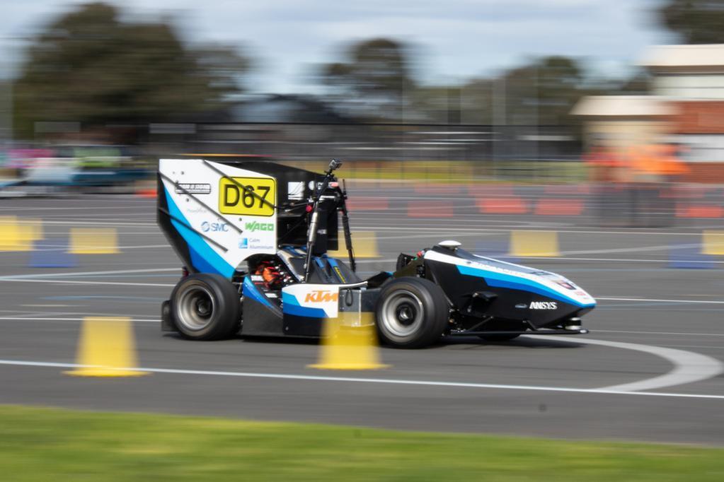 Aussie uni students build autonomous race car - www carsales
