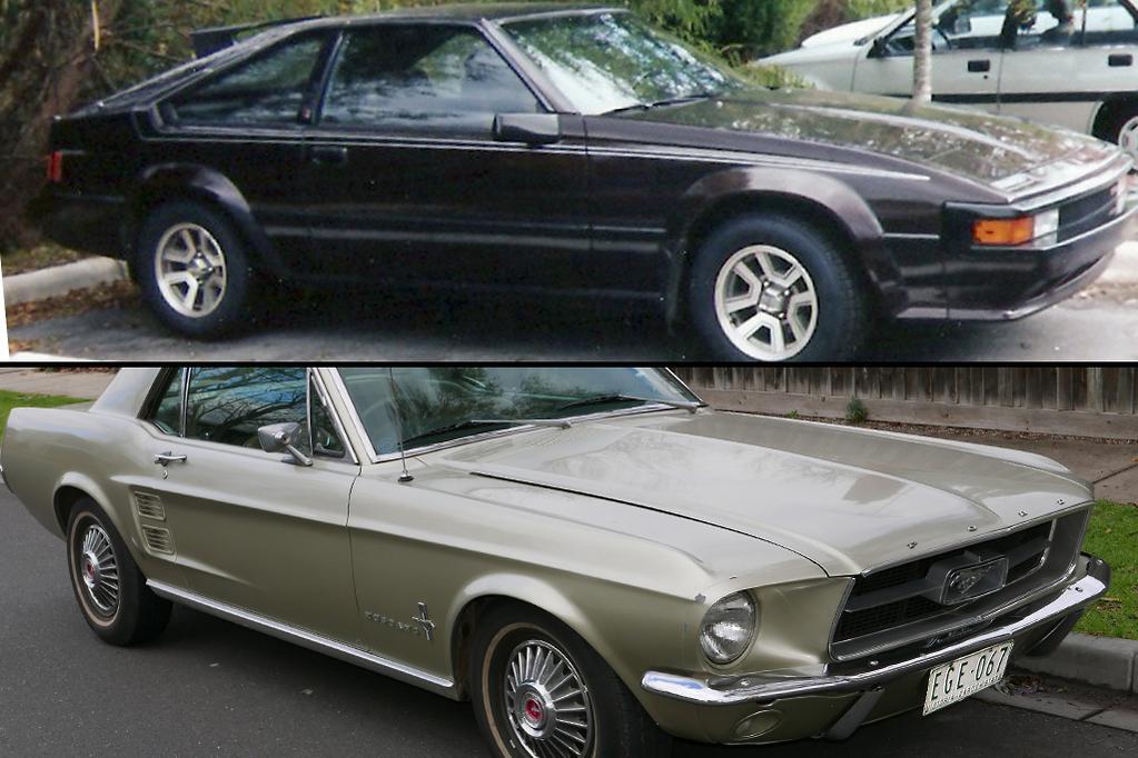 Toyota Supra v Ford Mustang - www carsales com au