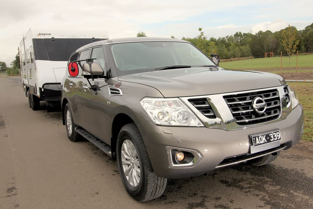 Nissan Patrol Tow Test 2018 Review - www carsales com au