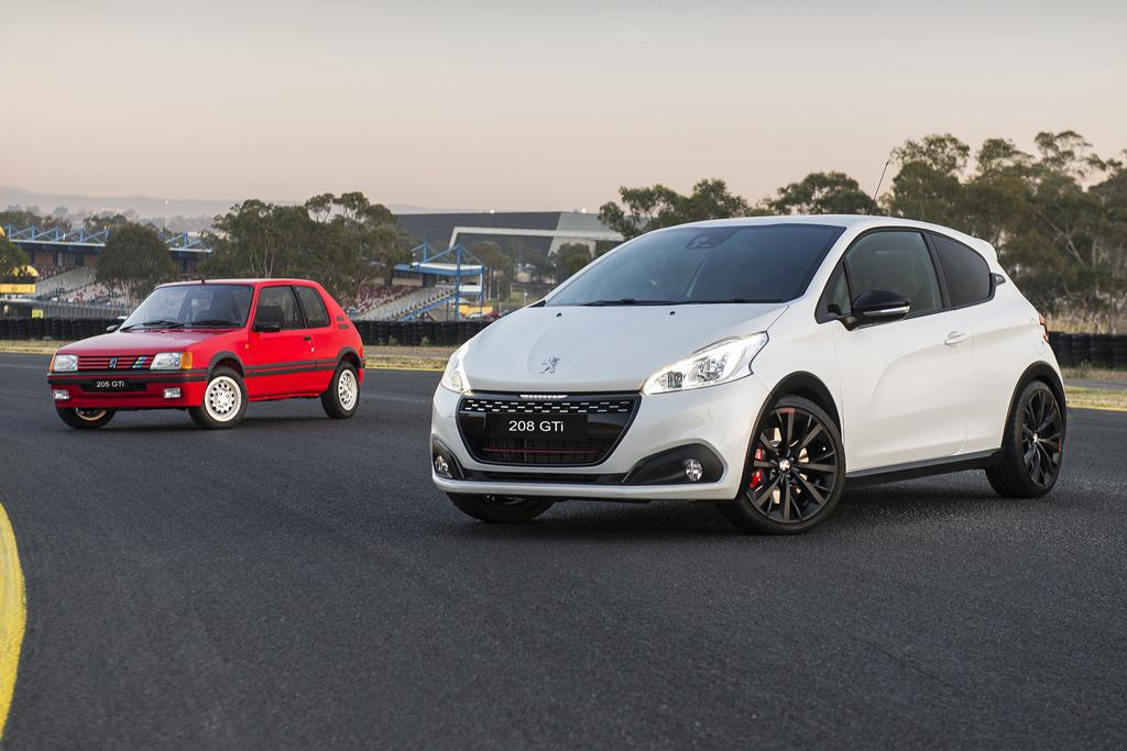 peugeot 208 gti farewelled in style - www.carsales.au