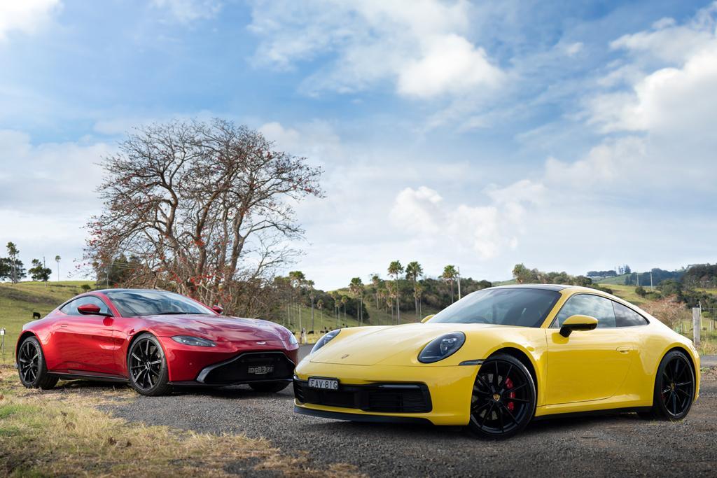 Aston Martin Vantage V Porsche 911 2019 Comparison Carsales Com Au