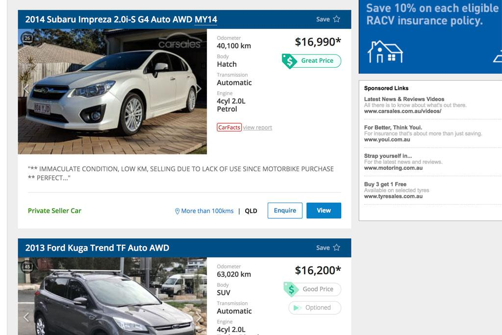 Carsales Price Indicator Gives Car Buyers Confidence Www Carsales