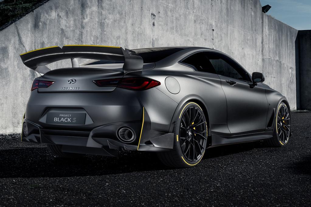 Paris Motor Show Infiniti Project Black S Upgraded To 420kw Www
