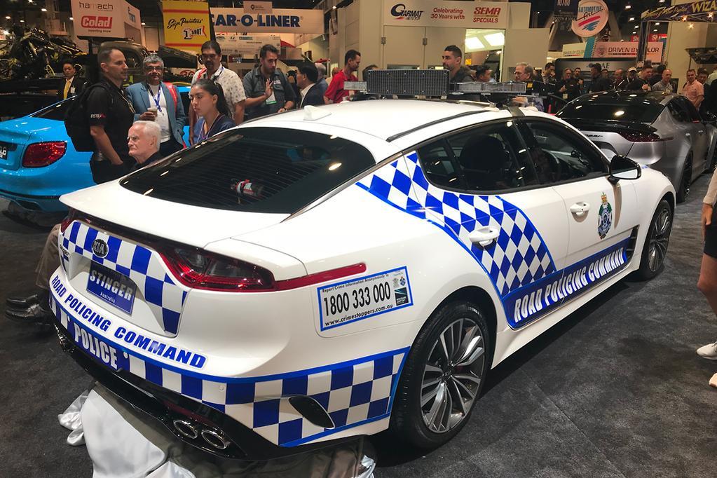 Queensland Police Stinger wows SEMA - www carsales com au