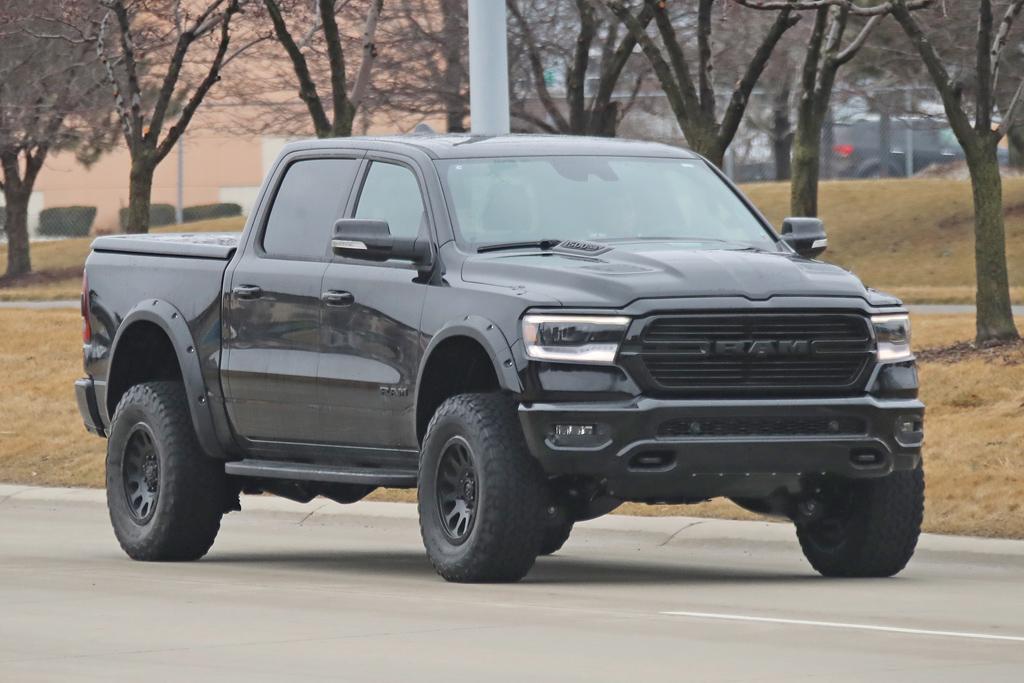 Dodge Ram Rebel Trx Price >> Spy Pics Ram Rebel Trx Hellcat Spotted Www Carsales Com Au