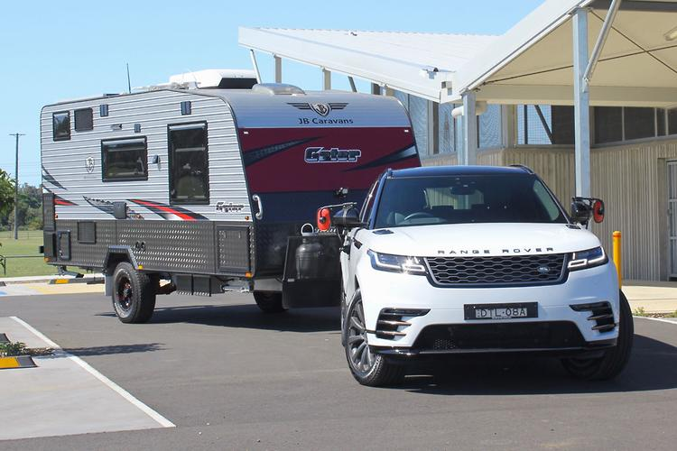 range rover velar 2018 tow test review www carsales com aurange rover velar 2018 tow test review