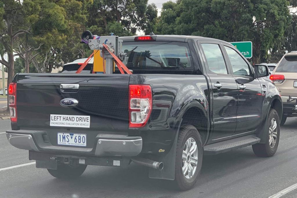 Spy Pics V8 For Ford Ranger Wwwcarsalescomau