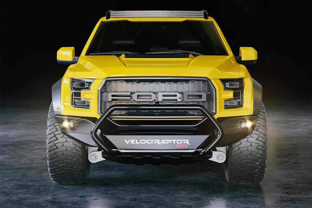 Hennessey Reveals Velociraptor Ford F 150 6x6 Ute Www Carsales Com Au