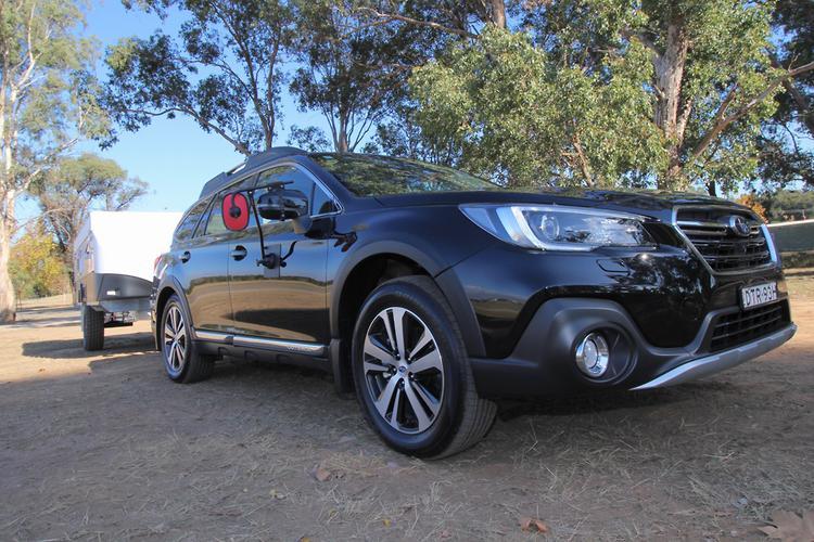 Subaru Outback 2018 Tow Test Review - www carsales com au