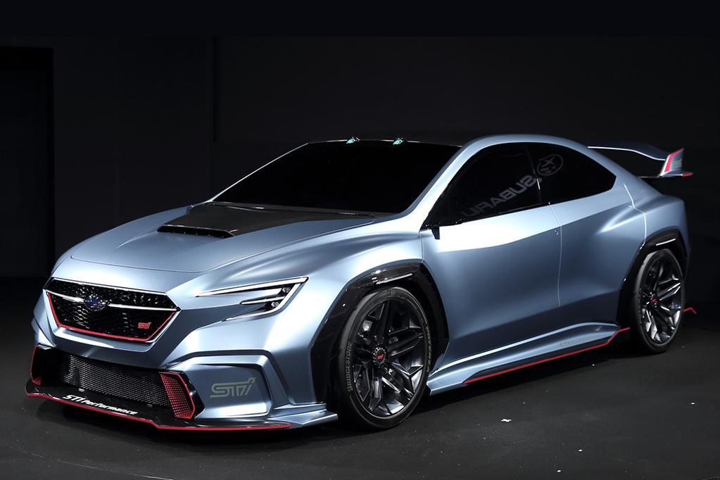 Subaru unveils 2019 WRX STI -- maybe - www carsales com au