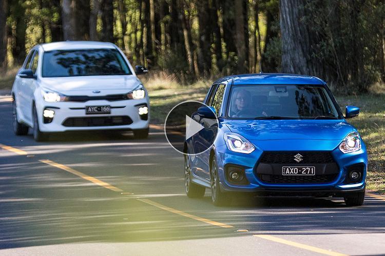 Kia Rio GT-Line v Suzuki Swift Sport 2019 Comparison Video