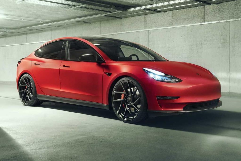 Telsa Model 3 gets German muscle - www carsales com au