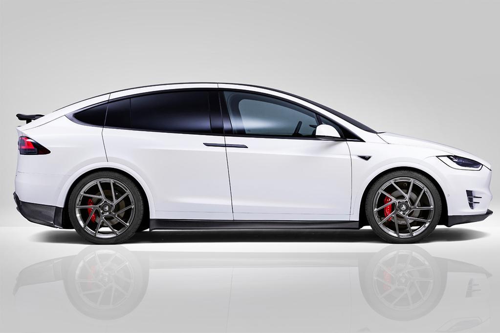 The Best Looking Tesla Model X Yet