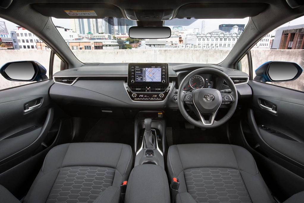 Toyota Corolla SX Hybrid 2018 Review - www carsales com au