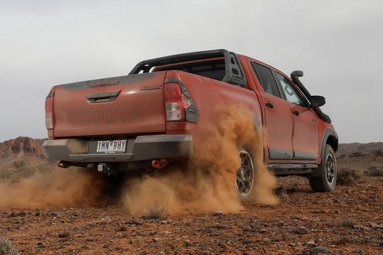 toyota strikes diesel and dust drama www carsales com au 2016 Toyota Hilux toyota strikes diesel and dust drama hilux