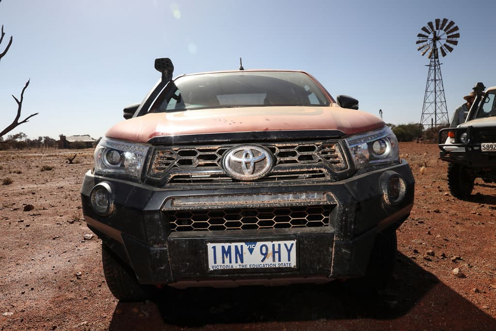 Toyota strikes diesel and dust drama - www carsales com au