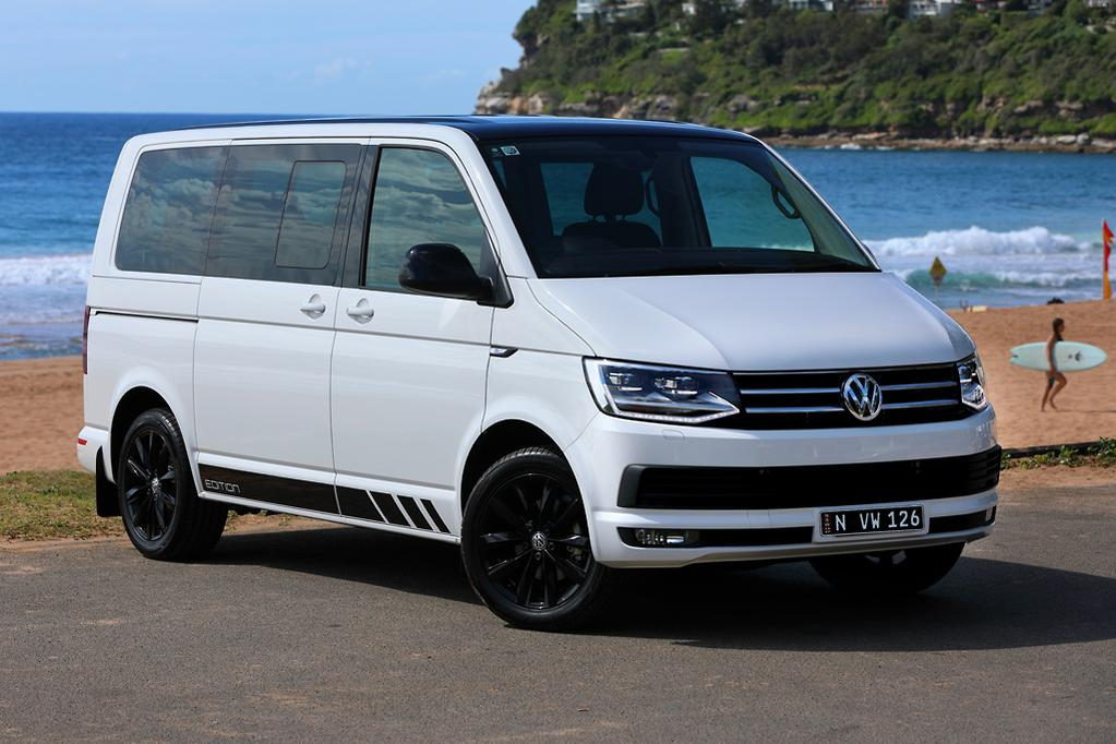 Limited To 230 Examples The Black Edition Offers A Distinct Take On Volkswagen S Ubiquitous Family Van Which Also Does Duty As Tra Warrior