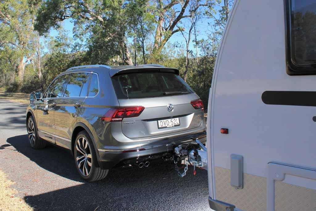 Volkswagen Tiguan 2018 Tow Test Review - www carsales com au