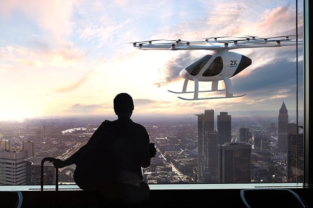 Volocopter S Personal Aircraft Which Is At An Advanced Stage Of Development And Has Already Been Granted A Provisional License To Fly From The German