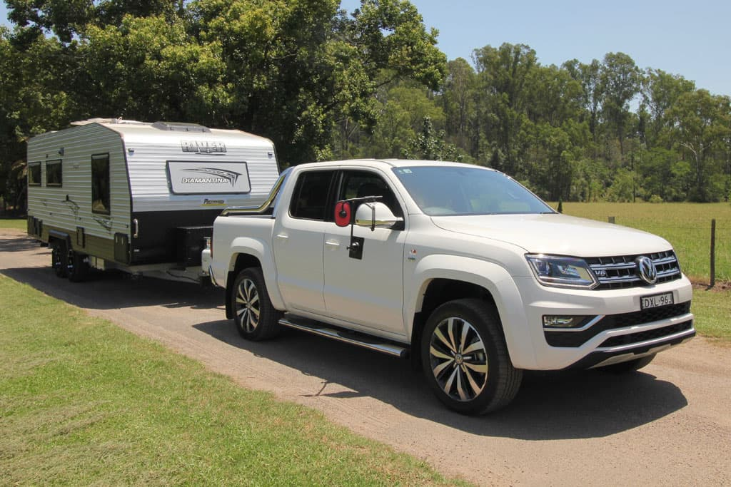 Volkswagen Amarok Ultimate 580 2019 Tow Test - www carsales