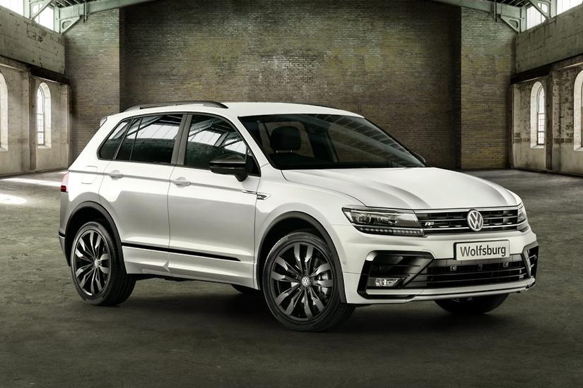 Volkswagen Tiguan 162TSI Wolfsburg Edition lands - www