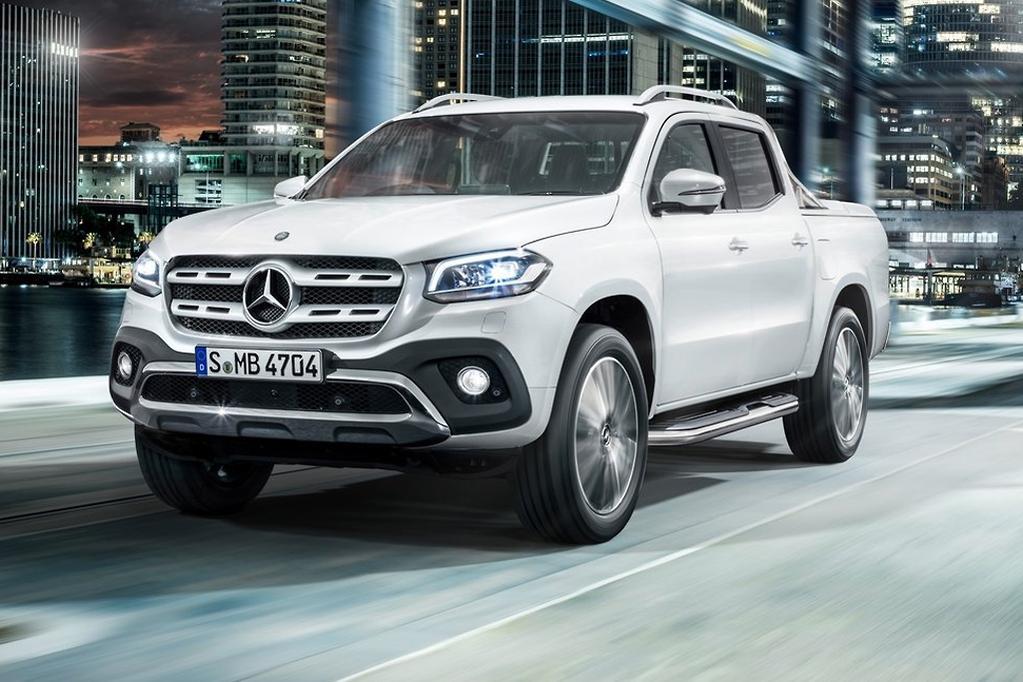Volkswagen mocks Mercedes-Benz ute - www carsales com au