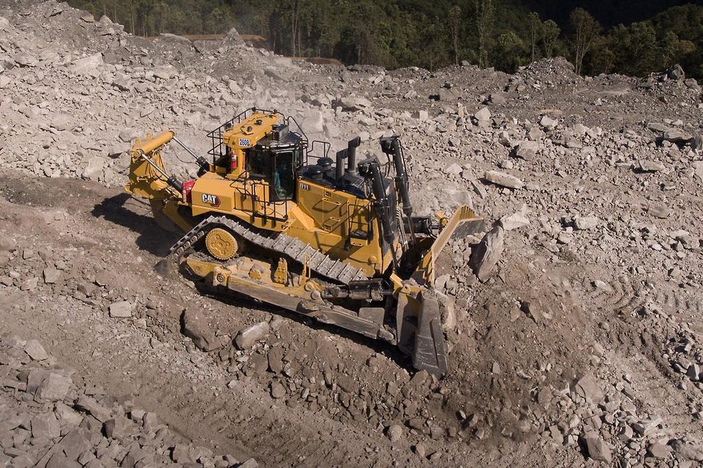 Cat launches more efficient D11 dozer - www constructionsales com au