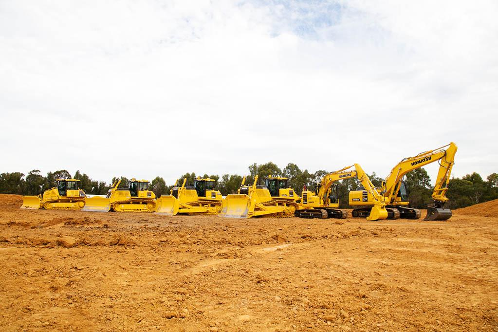 Komatsu unveils 25 new machines at largest ever launch event - www