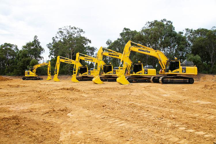 Komatsu unveils 25 new machines at largest ever launch event