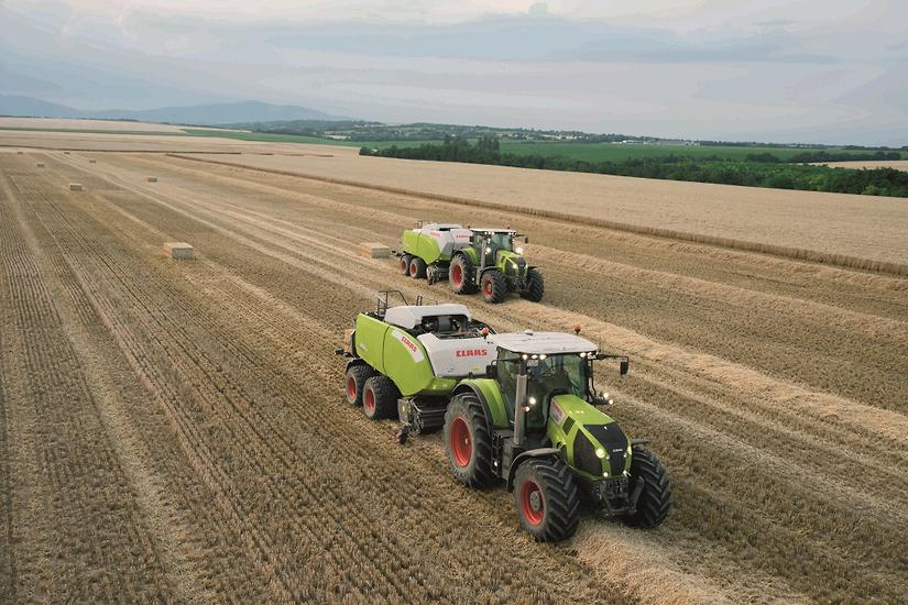 New CLAAS square balers