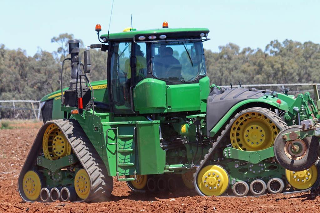 Tractor Gears Turning : Video john deere rxn tractor review