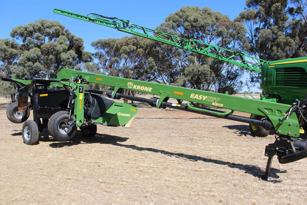 VIDEO: Krone unveils new EasyCut mower conditioners - www
