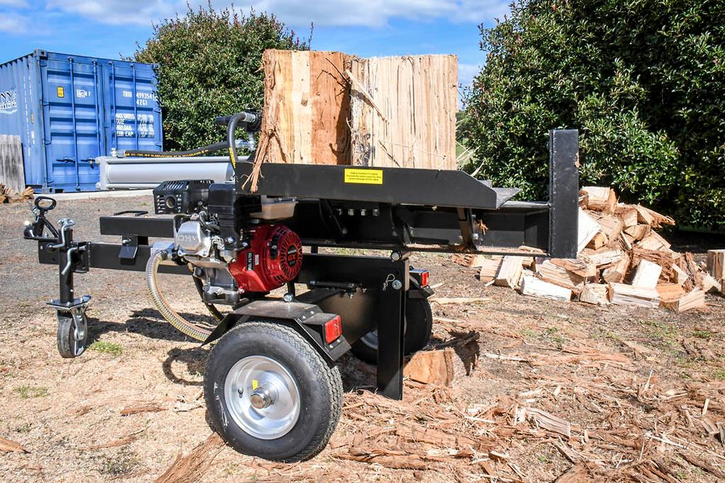 Black Diamond 25-tonne wood splitter review - www