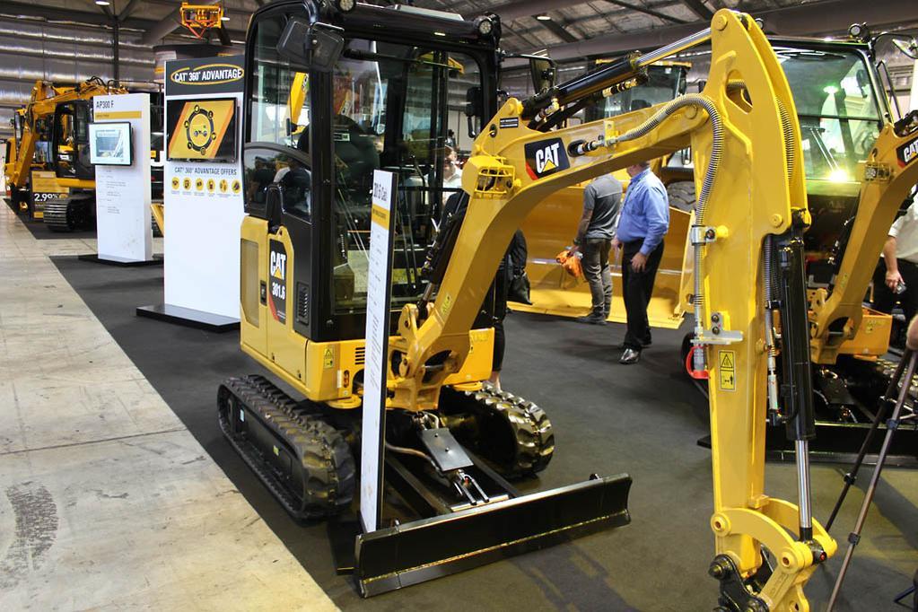 Cat unveils next-gen mini excavator series - www